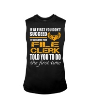STICKER FILE CLERK Sleeveless Tee thumbnail