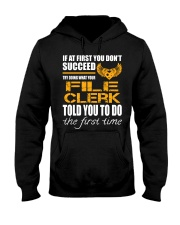 STICKER FILE CLERK Hooded Sweatshirt thumbnail