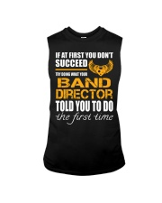 STICKER BAND DIRECTOR Sleeveless Tee thumbnail