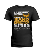 STICKER BAND DIRECTOR Ladies T-Shirt thumbnail