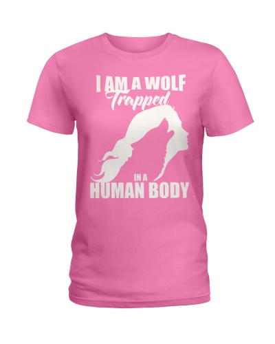 I AM A WOLF TRAPPED IN A HUMAN BODY