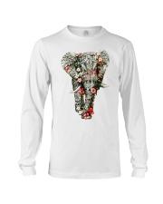 Flowered Elephant Long Sleeve Tee thumbnail
