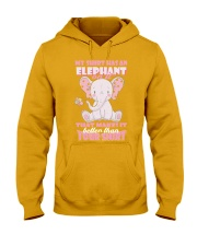 MY SHIRT HAS A ELEPHANT ON IT THAT MAKES IT BETTER Hooded Sweatshirt thumbnail