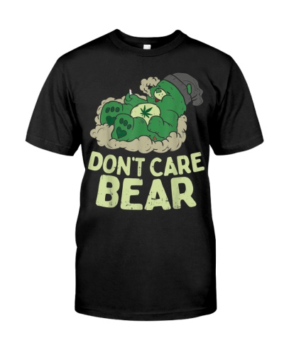 Funny Bear Smoking Weed Cannabis