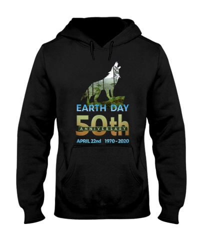 Earth Day 50th Anniversary Wolf