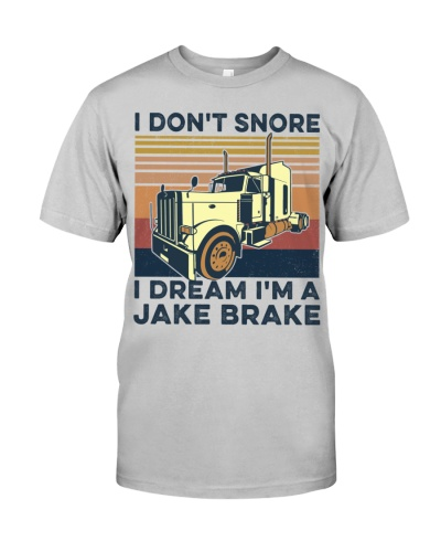 I Dont Snore Trucker