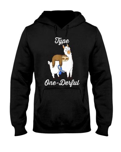 Type One-Derful Cute Sloth And Llama