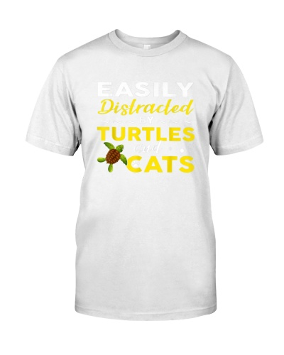 Easily Distracted By Turtles And Cats