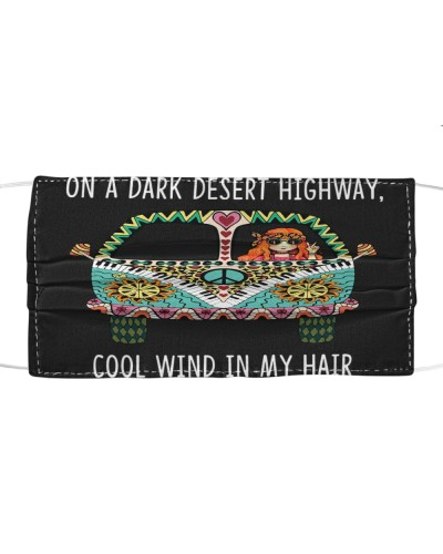 Hippie On A Dark Desert Highway Cool Wild