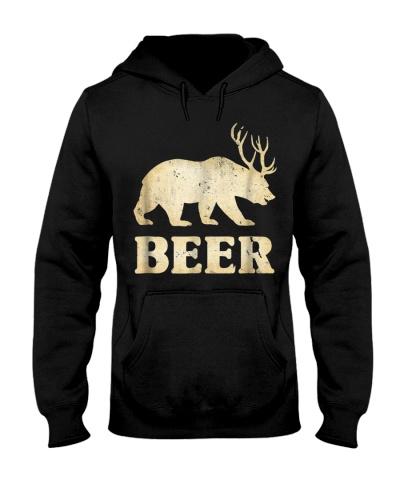 Bear Deer Funny Vintage T-Shirt