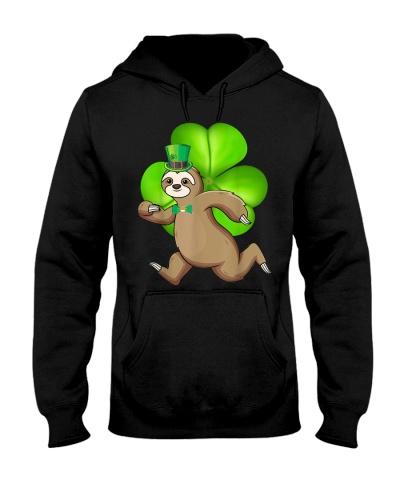 Sloth Running Shamrocks