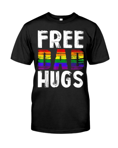 Mens Dad Hugs LBGT
