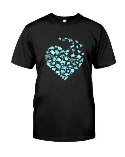 Heart Love Turtles