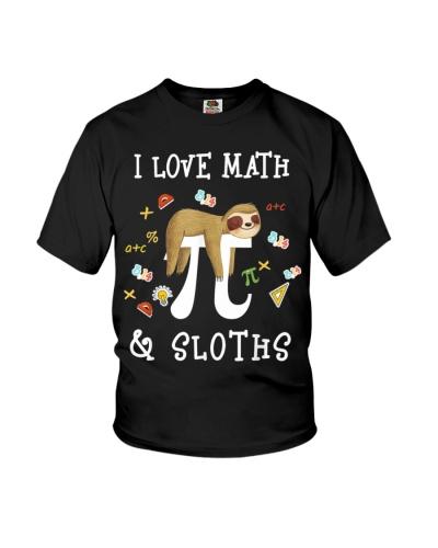 I Love Math and Sloths 222