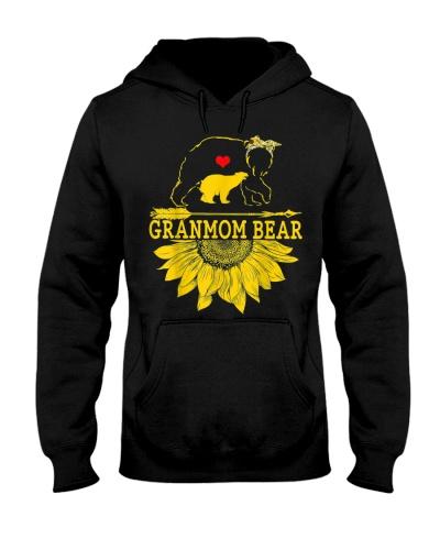 granmom Bear Sunflower