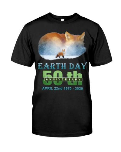 Earth Day Fox t