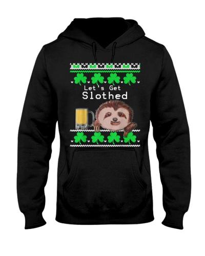 Sloth Ugly Shirt Lets Get