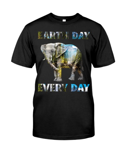 Earth Day Every Day Elephant