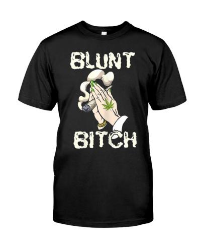 Womens Blunt Bitch Funny Marijuana Weedpot 420