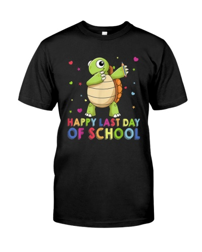 Turtles Happy Last Day Of School
