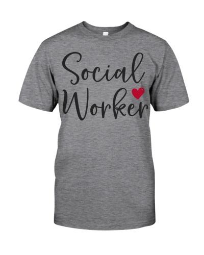 Cute Social Worker