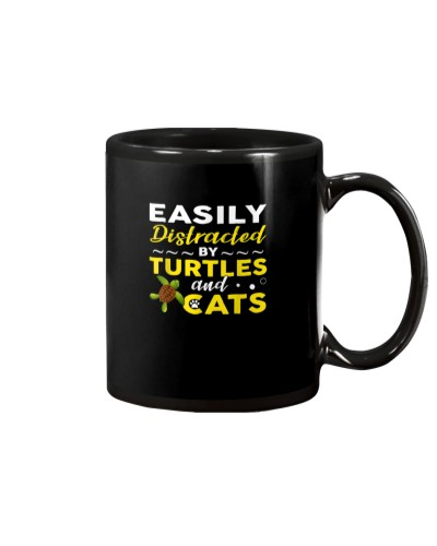 Turtles Easily Distracted By Turtles And Cats