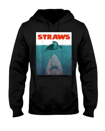 Save the Turtles - No Straws Shark