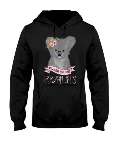 Just A Girl Who Loves Koalas Koala Bear