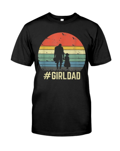 Girl Dad Father Of Girls Daughter Vintage