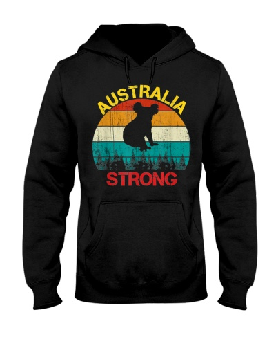 Australia Strong Koala Bear Retro