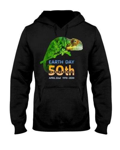 Earth Day Chameleon Lizard