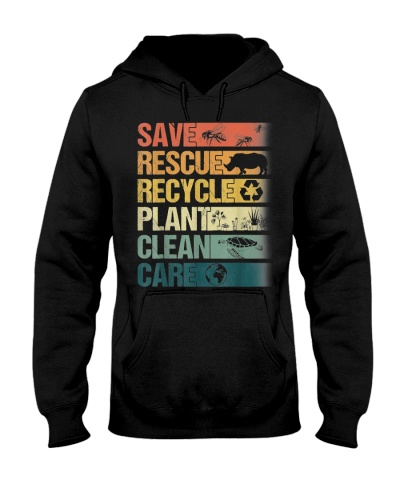 Save Bees Rescue Animals Recycle
