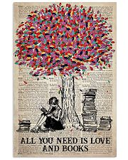 All You Need Is Love And Books 11x17 Poster front