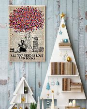 All You Need Is Love And Books 11x17 Poster lifestyle-holiday-poster-2