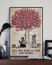 All You Need Is Love And Books 11x17 Poster lifestyle-poster-2