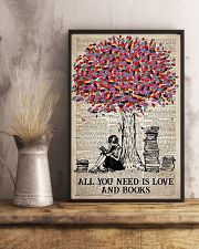 All You Need Is Love And Books 11x17 Poster lifestyle-poster-3