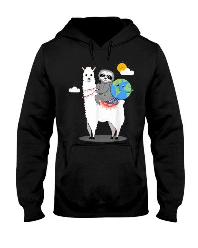 Sloth Llama Earth-Day