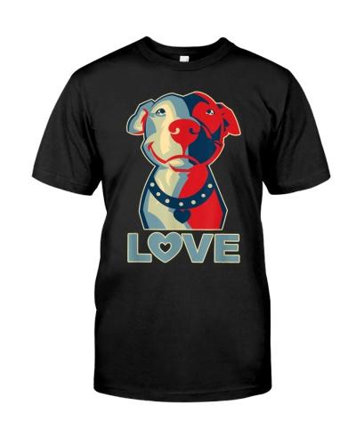 Pitbull Love Graphic