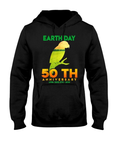 Earth Day 50th Anniversary Tropical Parrot