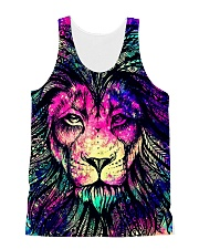 lion  All-over Unisex Tank front