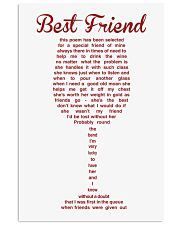 LIMITED EDITION - POSTER FOR BEST FRIEND 11x17 Poster front