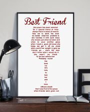 LIMITED EDITION - POSTER FOR BEST FRIEND 11x17 Poster lifestyle-poster-2