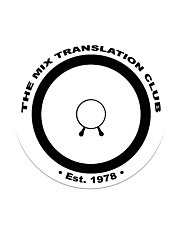 The Mix Translation Club Coaster Circle Coaster front