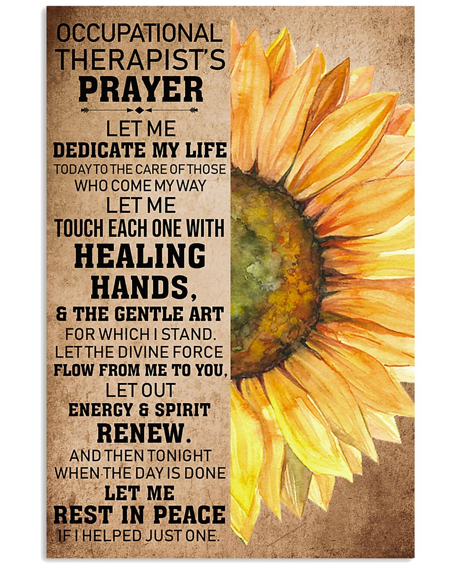Occupational Therapist's Prayer 11x17 Poster