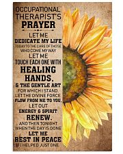 Occupational Therapist's Prayer 11x17 Poster front