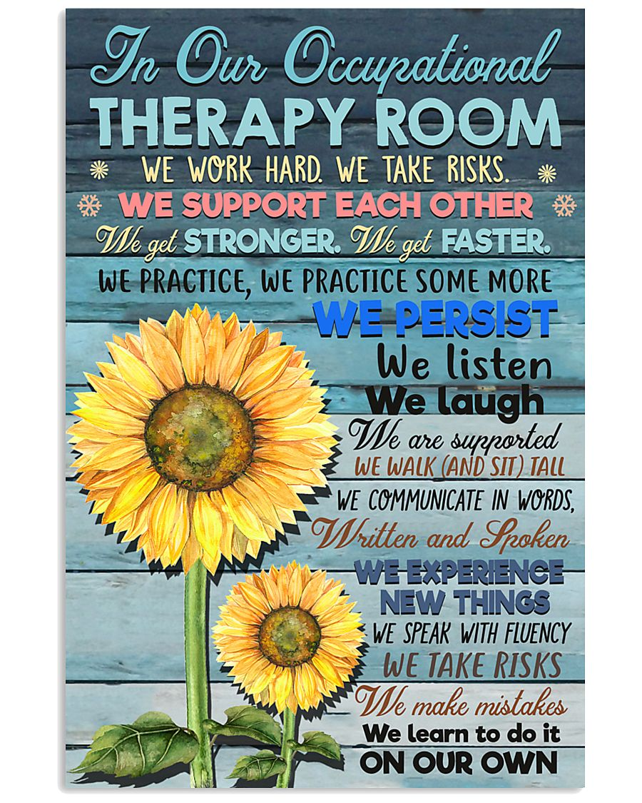 In Our Occupational Therapy Room 11x17 Poster