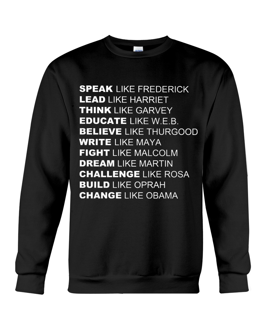 Social Justice Inspiration  Crewneck Sweatshirt
