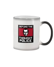 Defund the THOUGHT POLICE Color Changing Mug thumbnail