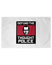 Defund the THOUGHT POLICE Woven Rug - 3' x 2' front