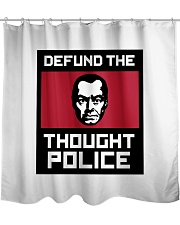 Defund the THOUGHT POLICE Shower Curtain thumbnail